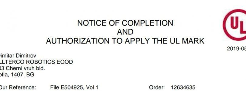 Shelly 1 y Shelly 2.5 reciben la certificación UL para Estados Unidos