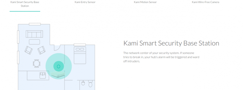 Kami Home, la serie Smart Home de Yi que acaba de lanzar