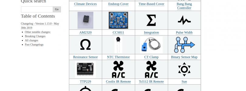 ESPHome se actualiza a la versión 1.3.0 con nuevos sensores y componentes