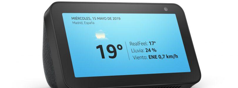 Amazon presenta el Echo Show 5, el nuevo integrante con pantalla