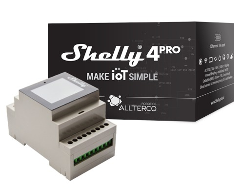 Shelly 4Pro, el nuevo producto que ya se puede reservar