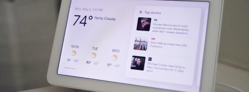 """Google podría estar preparando el modo """"Dark"""" para los Home Hub"""