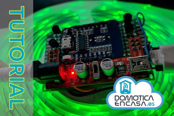Home Assistant #40: Controlador de LED RGB o RGBW con ESPHome