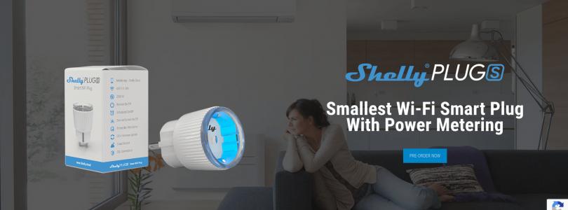 Shelly comienza las reservas de su Shelly Plug S