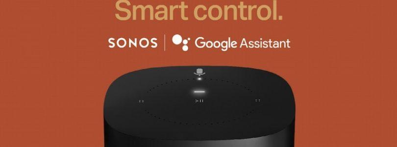 Sonos finalmente lanzará la semana que viene Google Assistant en su One