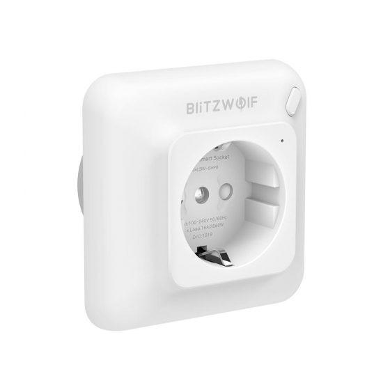 Blitzwolf presenta el SHP8, el enchufe empotrable con monitor de