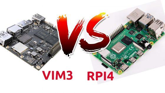 Vim3 vs Rasperry Pi 4, ¿cual merece más la pena?