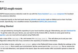 ESP32-mqtt-room: Sensor de presencia por habitaciones con ESP32 y un dispositivo BLE como la Mi Band 3