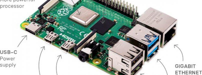 Raspberry Pi 4 presentada oficialmente