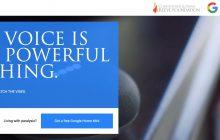 Google dona 100.000 altavoces Home Mini a personas con parálisis o sin movilidad