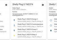 Dispositivos shelly en home assistant