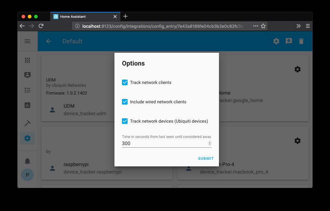home assistant versión 0.98