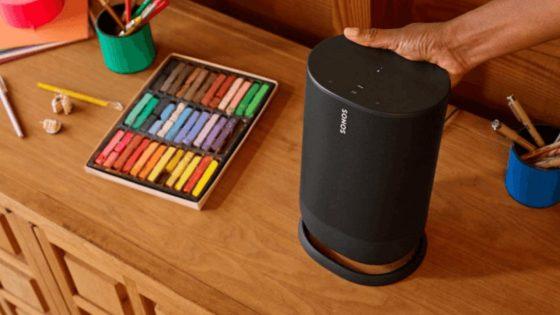Se filtra la primera imagen del altavoz Sonos Move, el primero de la marca con batería