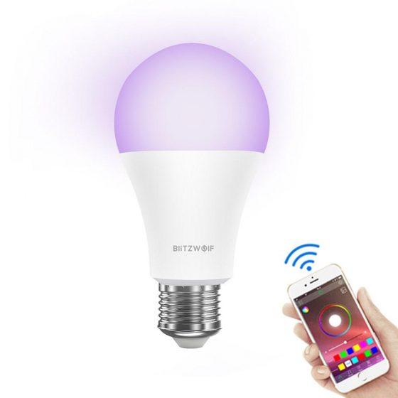 BlitzWolf presenta una bombilla RGBWW de 10W con Smart Life, la LT21