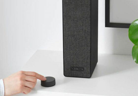 El mando para controlar los altavoces IKEA Symfonisk llegará el 1 de Octubre