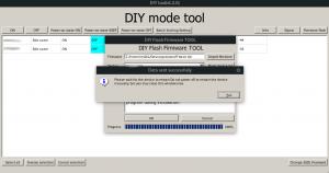 Sonoff diy tool en linux