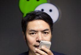 Asistante de voz WeChat Xiaowei de Tencent