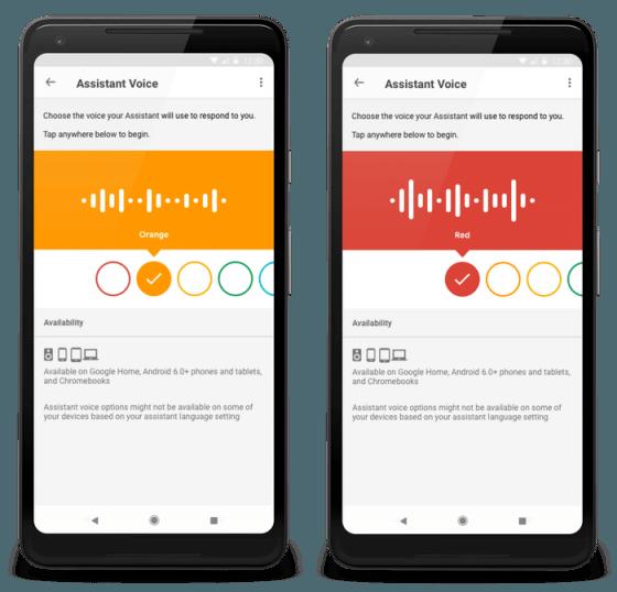 Google Assistant obtiene nuevas voces en nuevo idiomas
