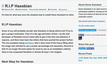 hassbian retirado de forma oficial