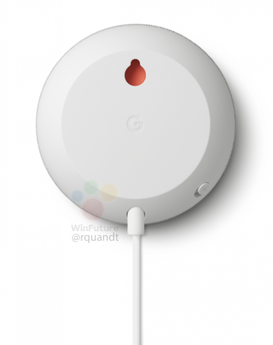 Google Nest Mini trasera