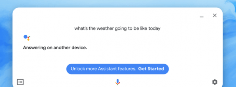 google assistant fallo pantalla