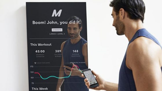 espejo smart fitness
