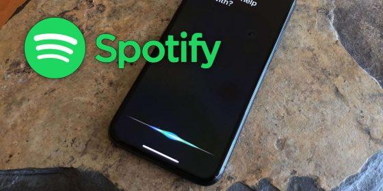 Spotify se actualiza y se hace compatible con Siri en iOS 13