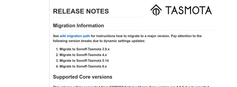 tasmota 6.7.1