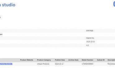 certificación bluetooth del nuevo termohigrómetro de Xiaomi