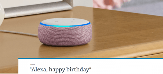 Alexa ha cumplido 5 años