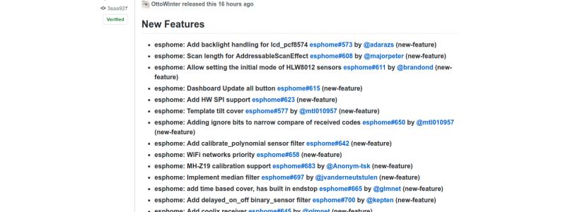 esphome versión 1.14.0