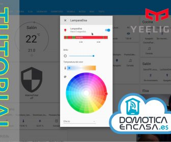 tutorial para integrar yeelight en home assistant