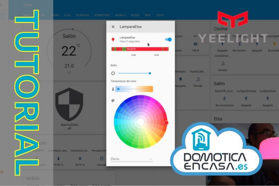 Home Assistant #47: Integramos Yeelight