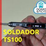 portada de la review del soldador TS100