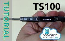 cambio de firmware del soldador TS100