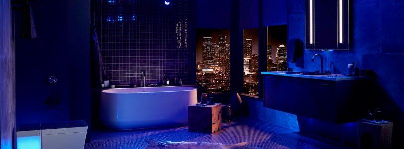 baño inteligente con bañeras inteligentes