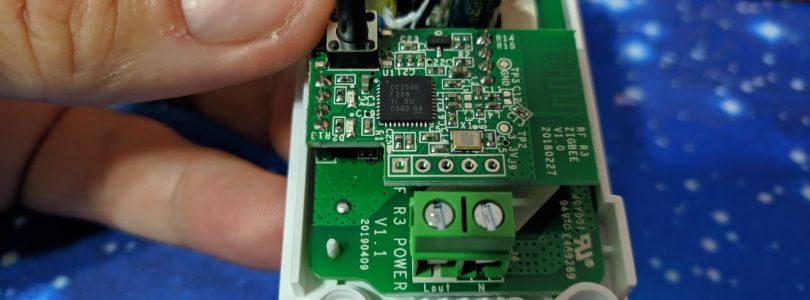 Desmontando el Sonoff Basic R3 Zigbee