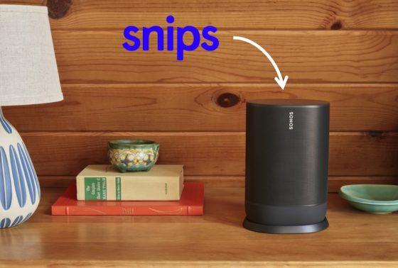 Sonos compra Snips.ai, un asistente virtual para mejorar sus dispositivos