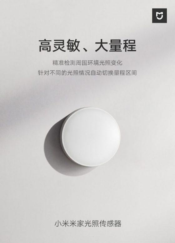 Sensor de luminosidad de xiaomi