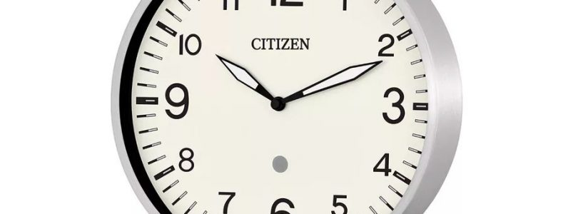 citizen smart clock de metal