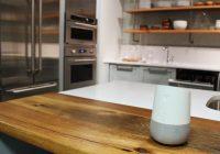 google assistant en la cocina