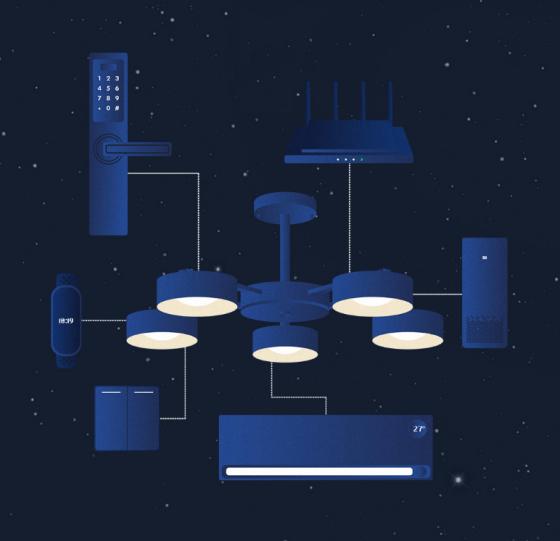 lámpara integrable en Mi Home
