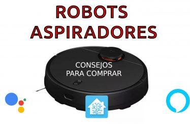 portada de consejos para comprar un robot aspirador
