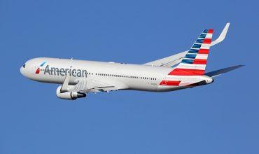 Avión de la american airlines