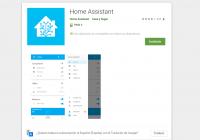 aplicación 1.5.0 de home assistant para Android