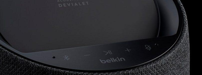 altavoz belkin con carga inalámbrica