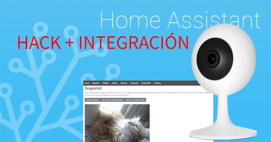 Home Assistant #52: Usamos la cámara Xiaomi Chuangmi