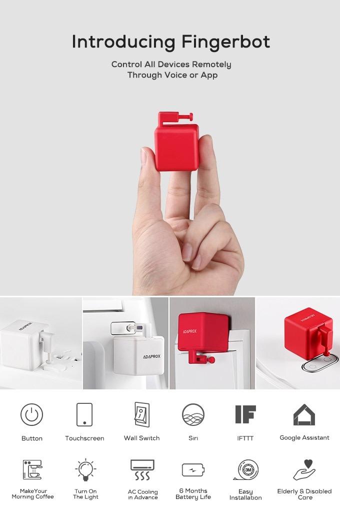especificaciones de fingerbot