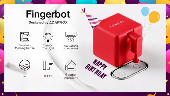 Fingerbot, un botón inteligente para automatizar infinidad de cosas