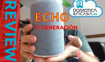 portada de la review del amazon echo de 3ª generación